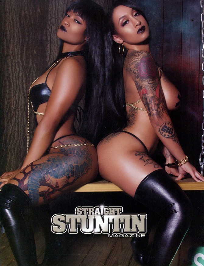 Ms. Butta and Bubblez Cold in Straight Stuntin 35
