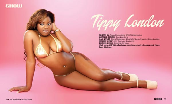 Tippy London @Mstippylondon in SHOW Magazine #28