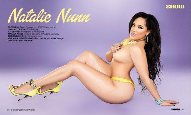 Natalie Nunn @missnatalienunn in SHOW Magazine #28