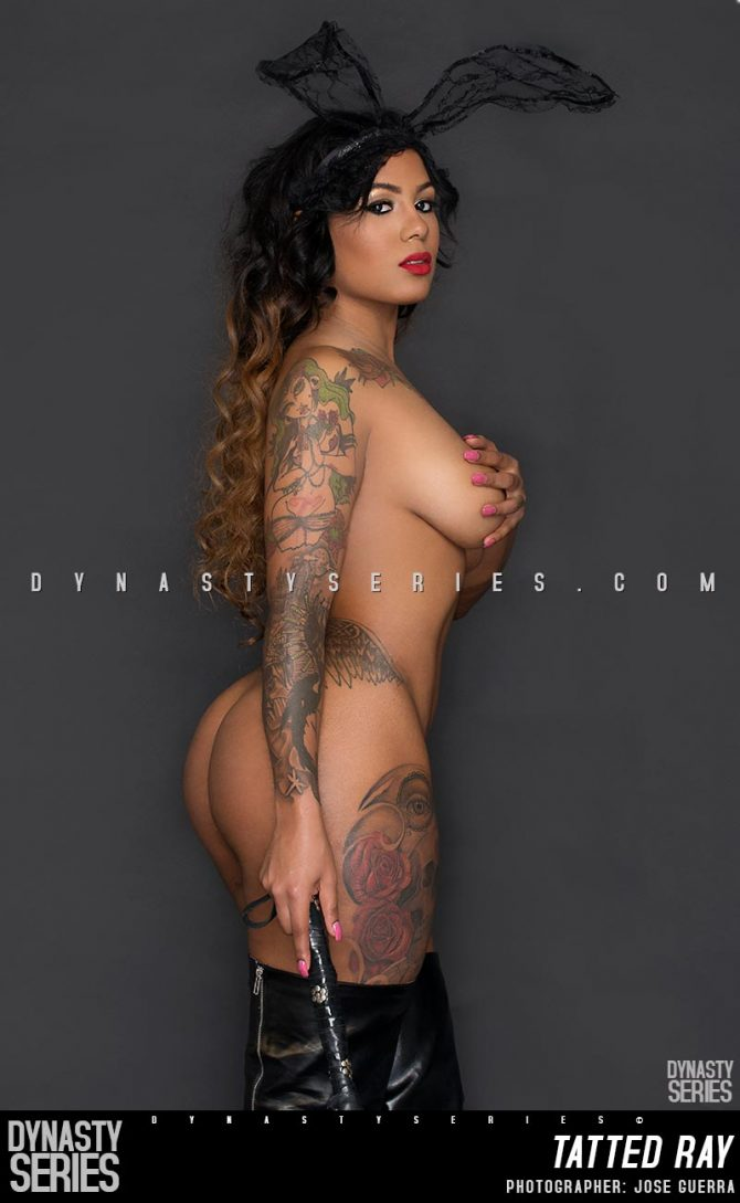 Tatted Ray @tattedray: Naughty Easter Bunny – Jose Guerra