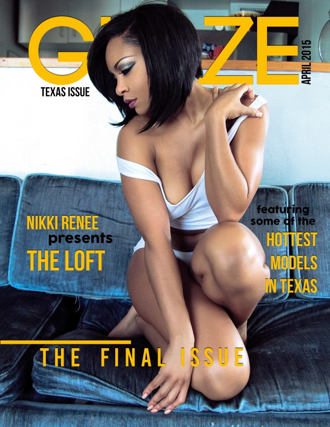 Nikki Renee @msnikki_renee in Glaze Edition Magazine – Alex Hudson