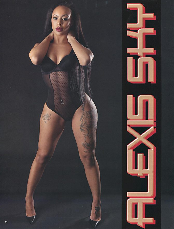 Alexis Skyy @alexiis_skyy in Straight Stuntin #37