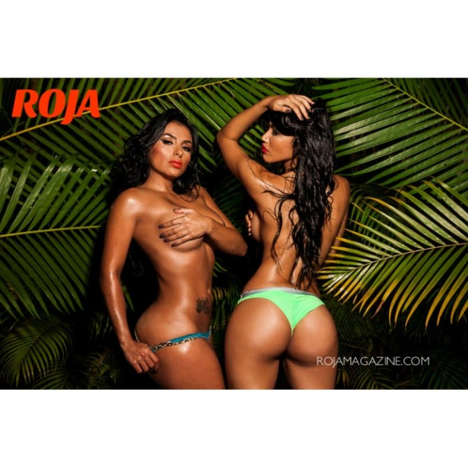 More of Carolinda and Melodiva in Roja Magazine – Algis Infante