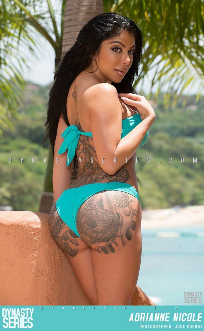 Adrianne Nicole @theadriannenicole: Blue Lagoon x Sosua Beach – Jose Guerra