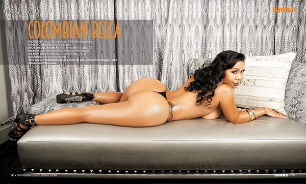 Colombian Bella @colombianbella in SHOW Magazine #29
