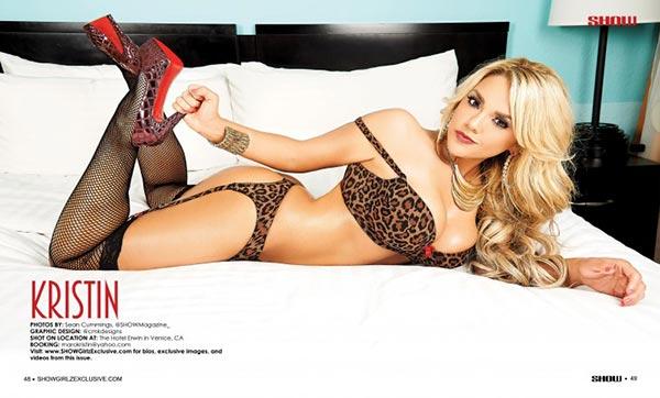 Kristin @kristinakaella in SHOW Magazine #29