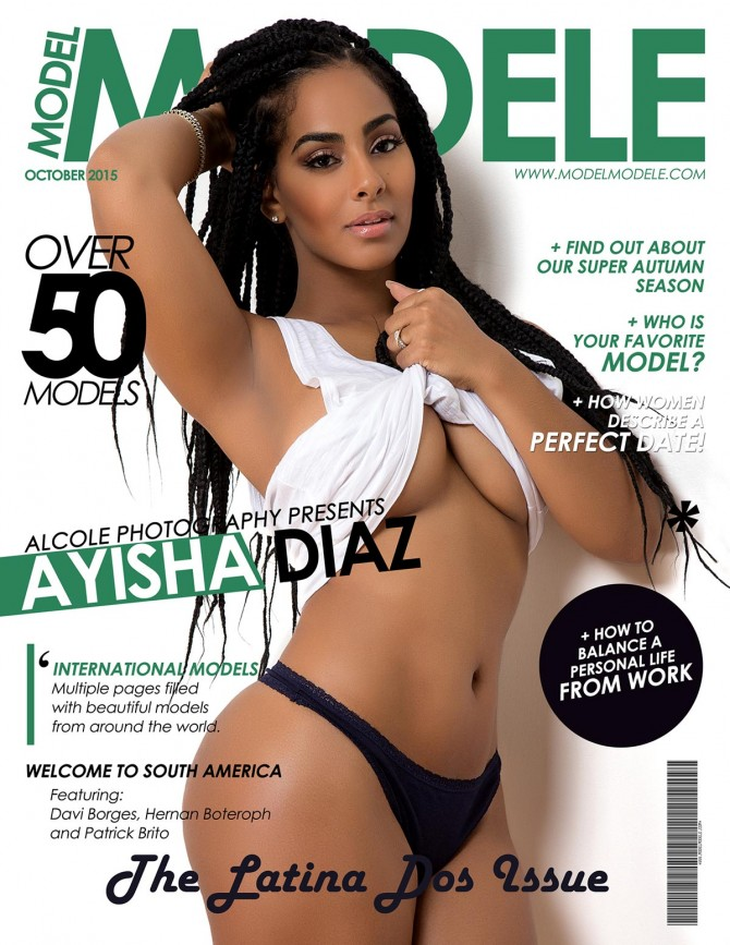 "Ayisha Diaz @ayishadiaz0 in Model Modele Magazine Presents The Latina ""Dos"" Issue"