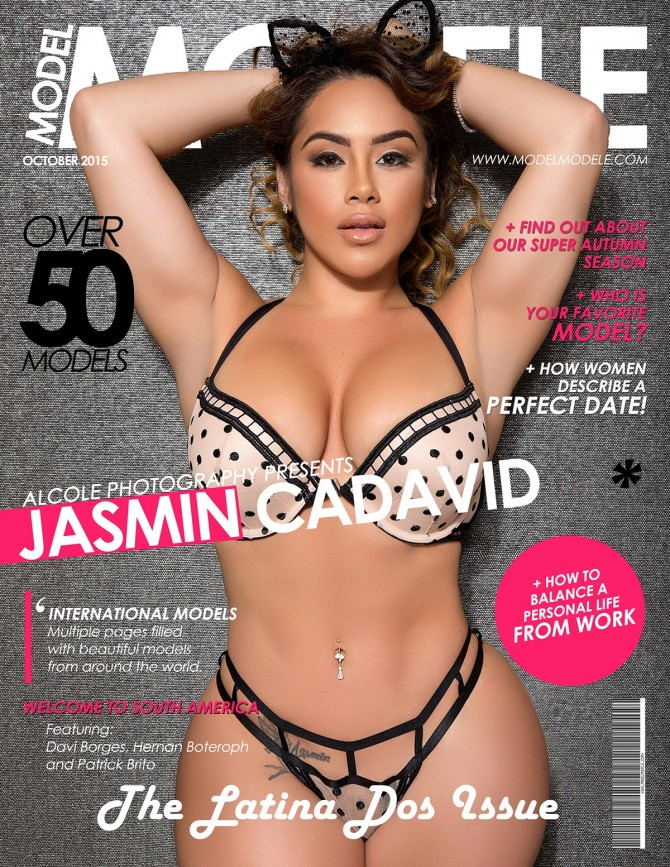 "Jasmin Cadavid @jamincadavid in Model Modele Magazine Presents The Latina ""Dos"" Issue"