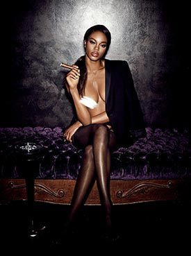 More of Eugena Washington in Girl's Night Out – Playboy