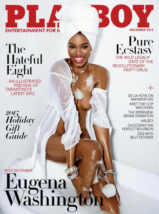 Eugena Washington in Girl's Night Out – Playboy