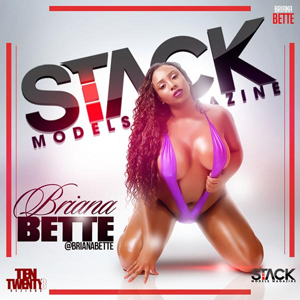 Briana Bette @BrianaBette – StackModels Magazine Print Issue #3 Preview