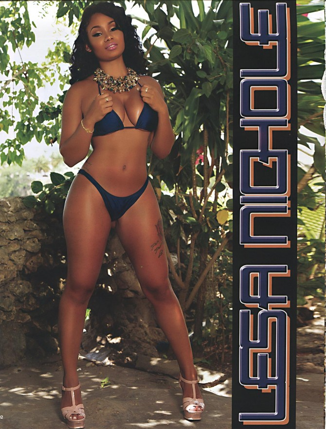 Lesa Nichole @lesanichole in Straight Stuntin Issue #39