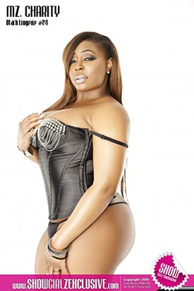 Mz. Charity @_MzCharity_ in SHOW Magazine