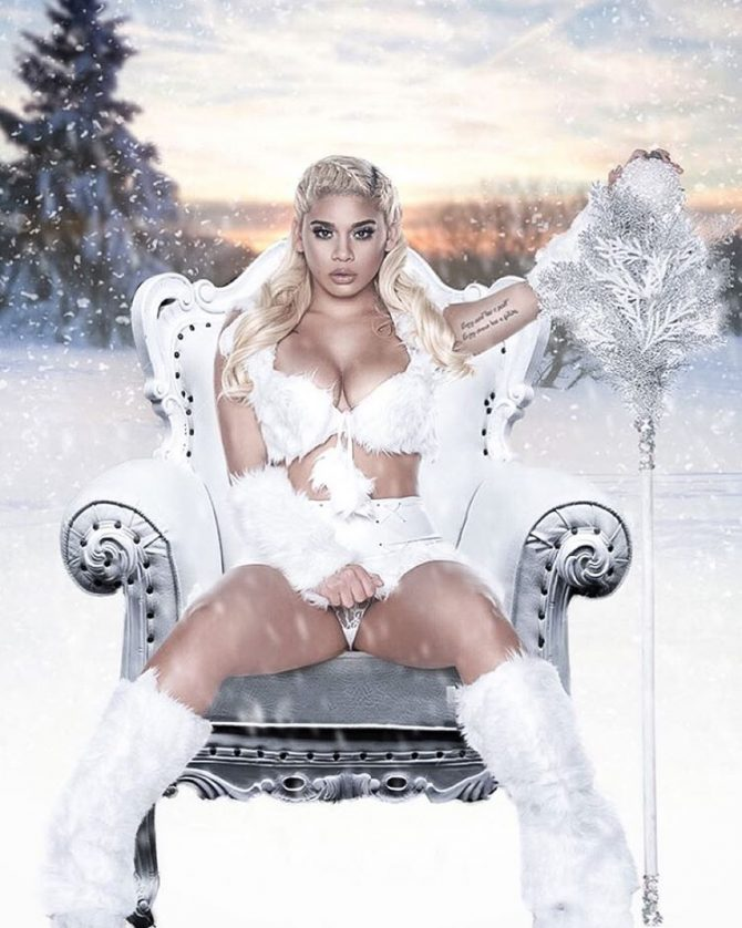 Fachon @__0bsession: Ice Queen – Jose Guerra x @mariposa_makeup