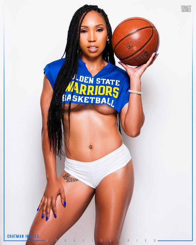 Candice @cmoore_beasta: Golden State in 7 – Chatman Images