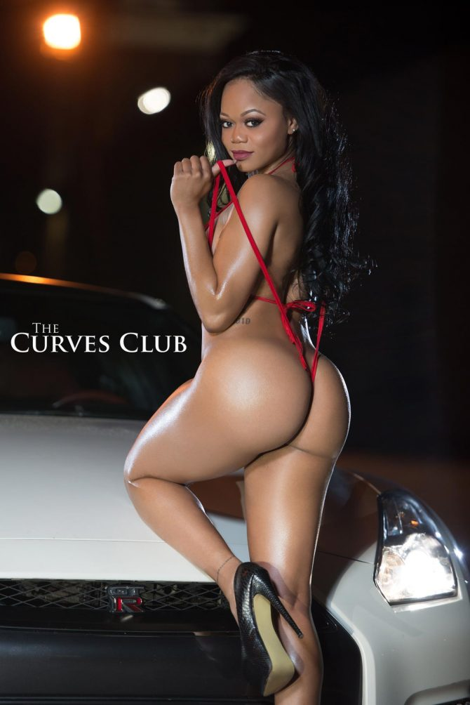Shani Rose @iamshanirose: Nissan GTR x The Curves Club