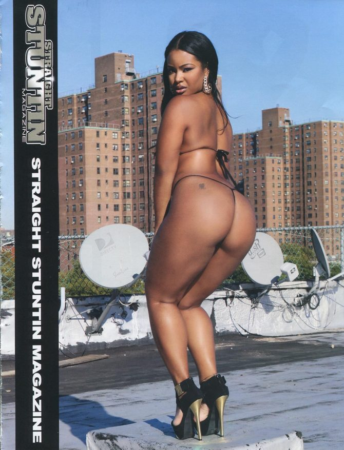 Anteja in Straight Stuntin Issue #40