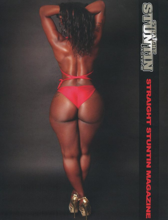 Nina Ross in Straight Stuntin Issue #40