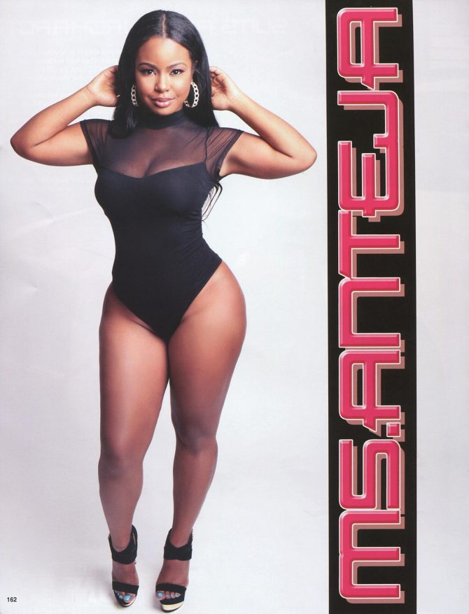 Anteja in Straight Stuntin Issue #41