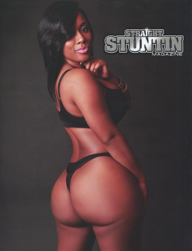 Cat Washington @mscat215 in Straight Stuntin Issue #41