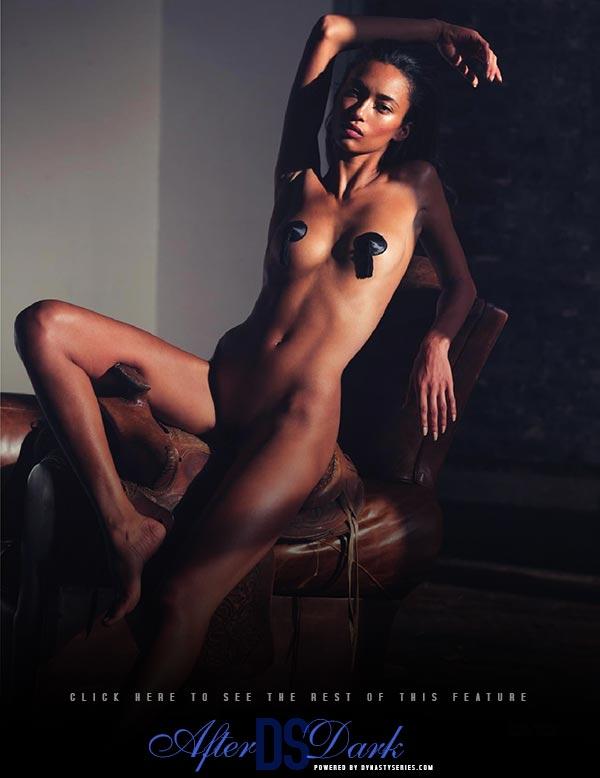 Anais Mali in Lui Magazine
