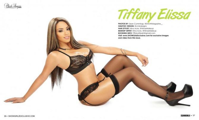 Tiffany Elissa in SHOW Magazine