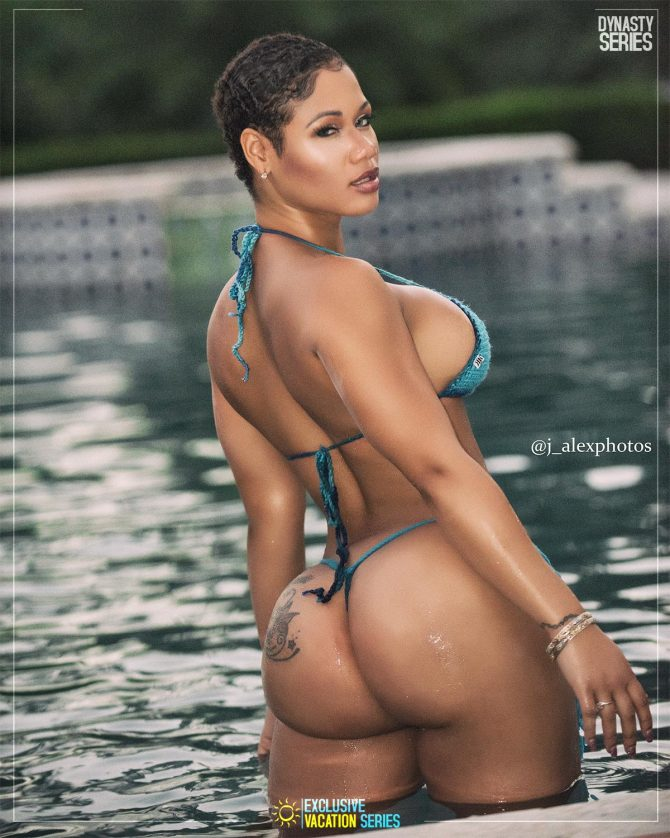 Daffini Evans: Villa Life x Exclusive Vacation Series – J. Alex Photos