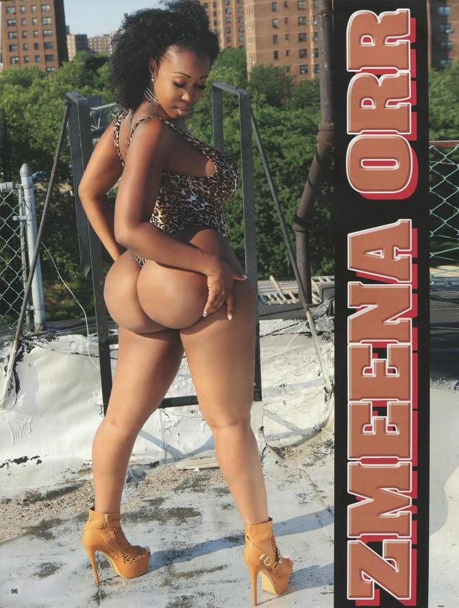 Zmeena Orr in Straight Stuntin Issue #43