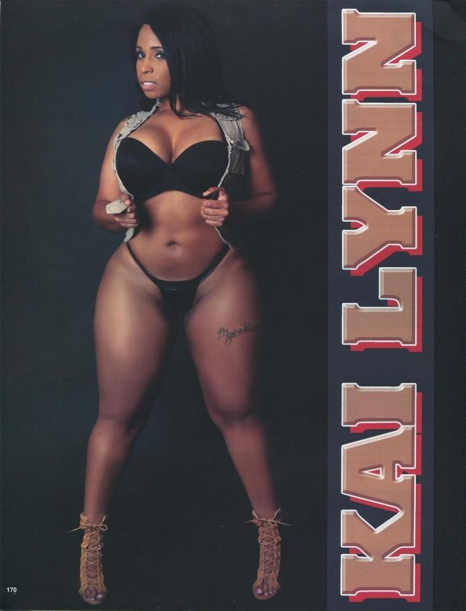 Kai Lynn in Straight Stuntin Issue #43