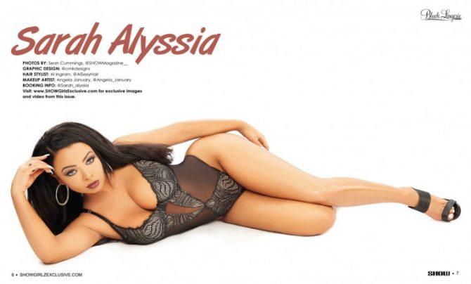 Sarah Alyssia in SHOW Magazine