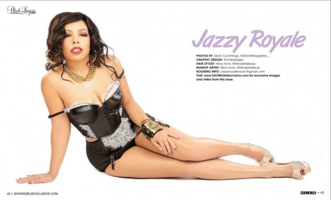 Jazzy Royale in SHOW Magazine