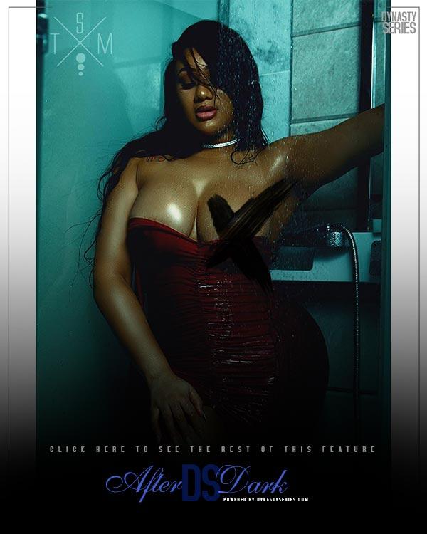 Kitty Rae White: Evening Shower – Studio Marz x DSAfterDark