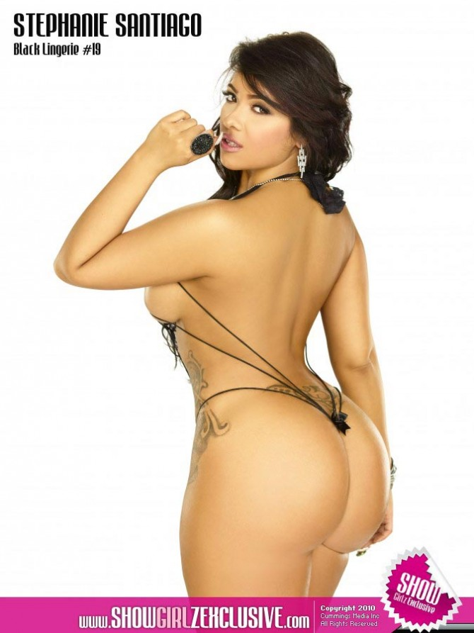 Stephanie Santiago in SHOW Magazine