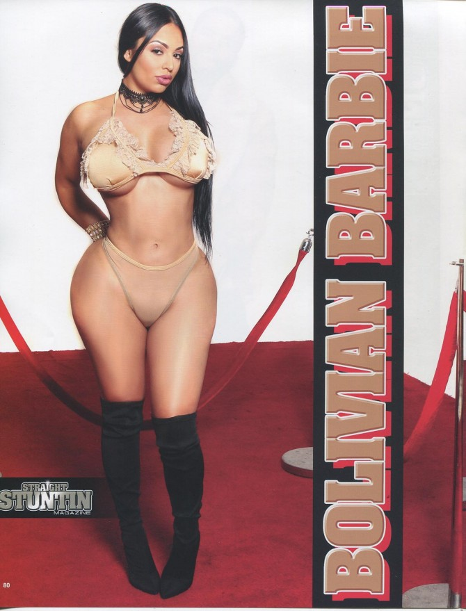 Bolivian Barbie in Straight Stuntin #44