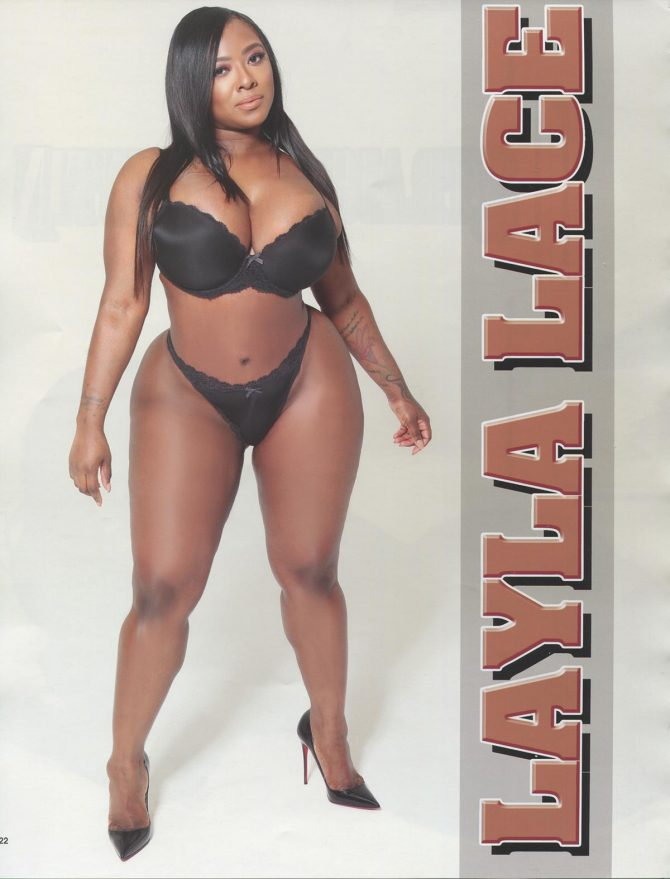 Layla Lace in Straight Stuntin Magazine #45