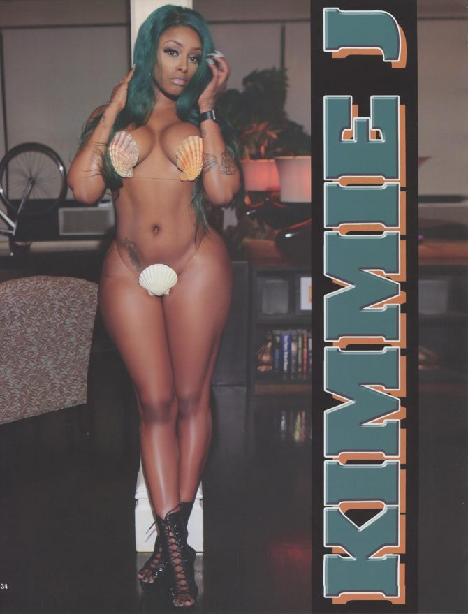 Kimmie J in Straight Stuntin Magazine #45