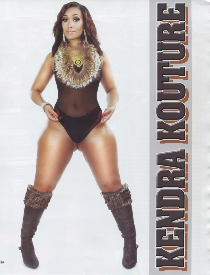 Kendra Kouture in Straight Stuntin Magazine #45