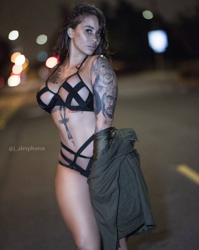 Me'Gan Denise: Late Nights – J. Alex Photos