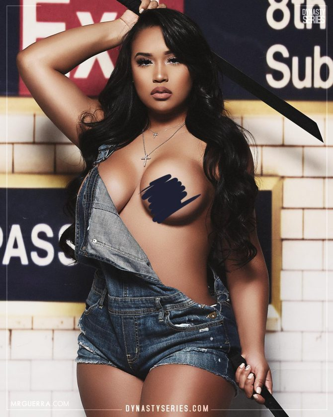 Sayany: The Warriors Part Deux – Jose Guerra x Artistic Curves
