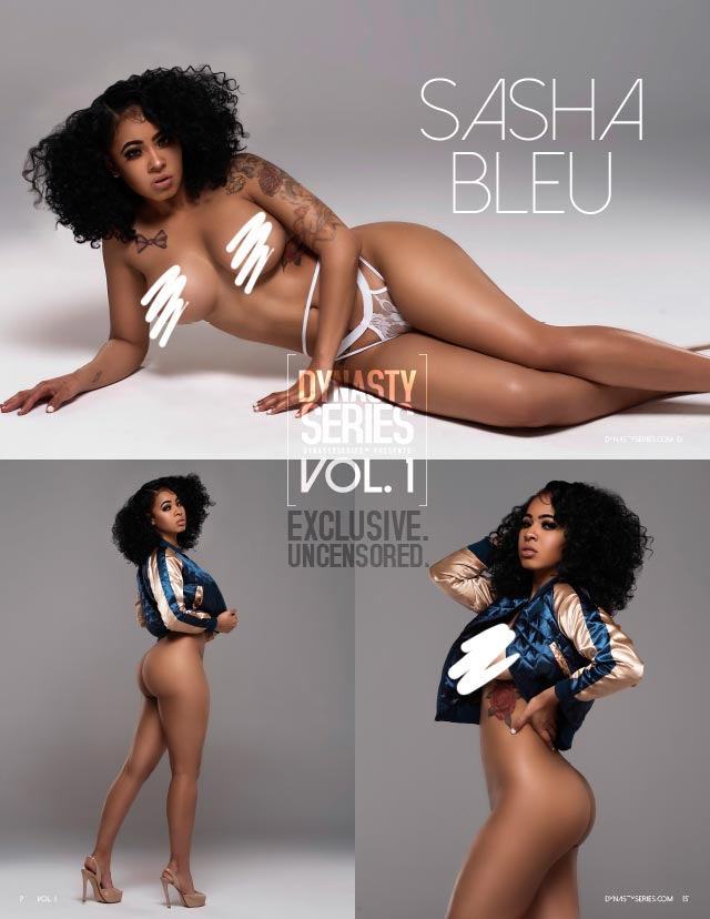 Sasha Bleu: DynastySeries Presents Volume 1 Preview