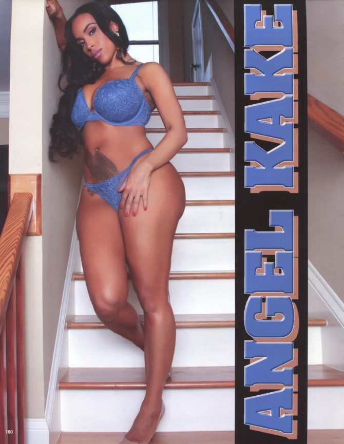 Angel Kake in Straight Stuntin Magazine #46