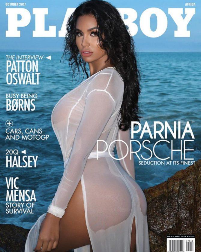 Parnia Porsche x Playboy