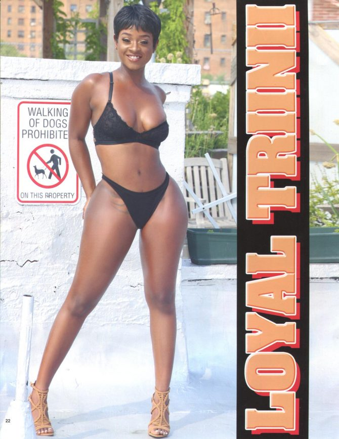 Loyal Trinii in Straight Stuntin Magazine #47