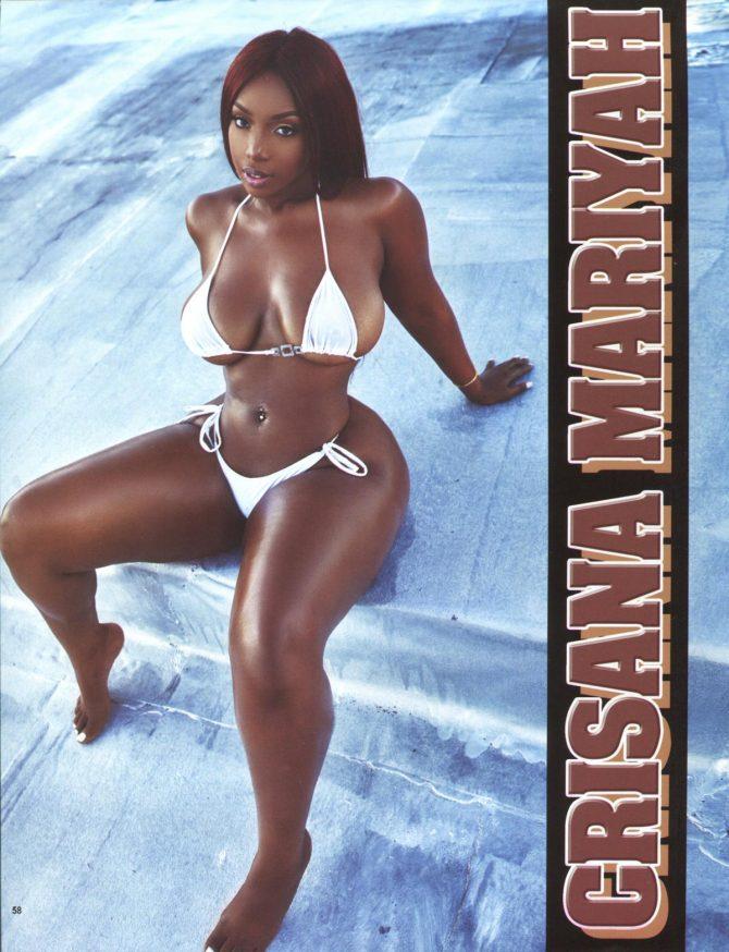 Crisana Mariyah in Straight Stuntin Magazine #47