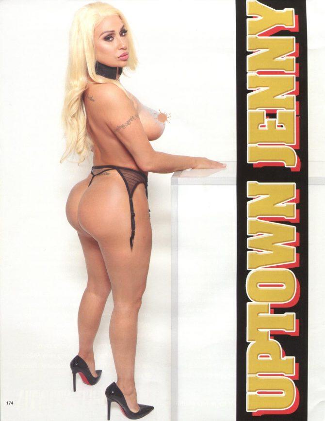 Uptown Jenny in Straight Stuntin Magazine #47