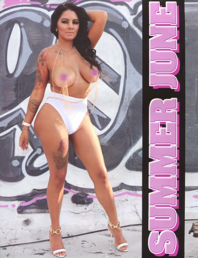 Summer June in Straight Stuntin Magazine #47
