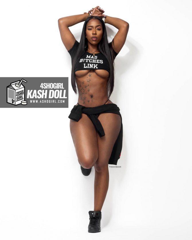 Kash Doll @kashdoll x 4ShoGirl