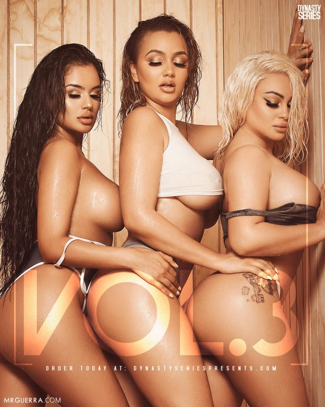 Sabbina x Erica Monique x Superstar Jess: DynastySeries™ Presents Volume 3: Sauna – Bonus Preview