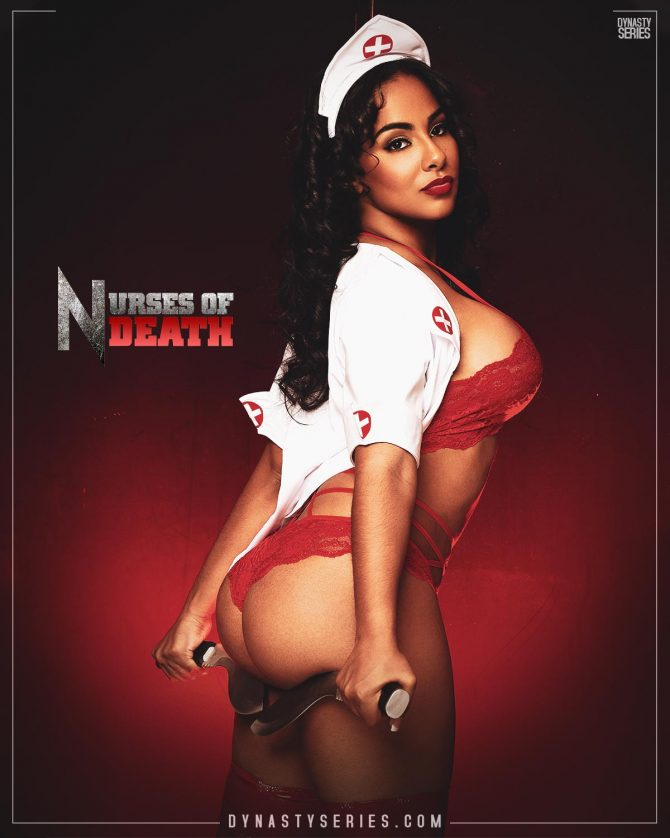 Ayisha Diaz: DynastySeries Collectors Edition – Nurses of Death