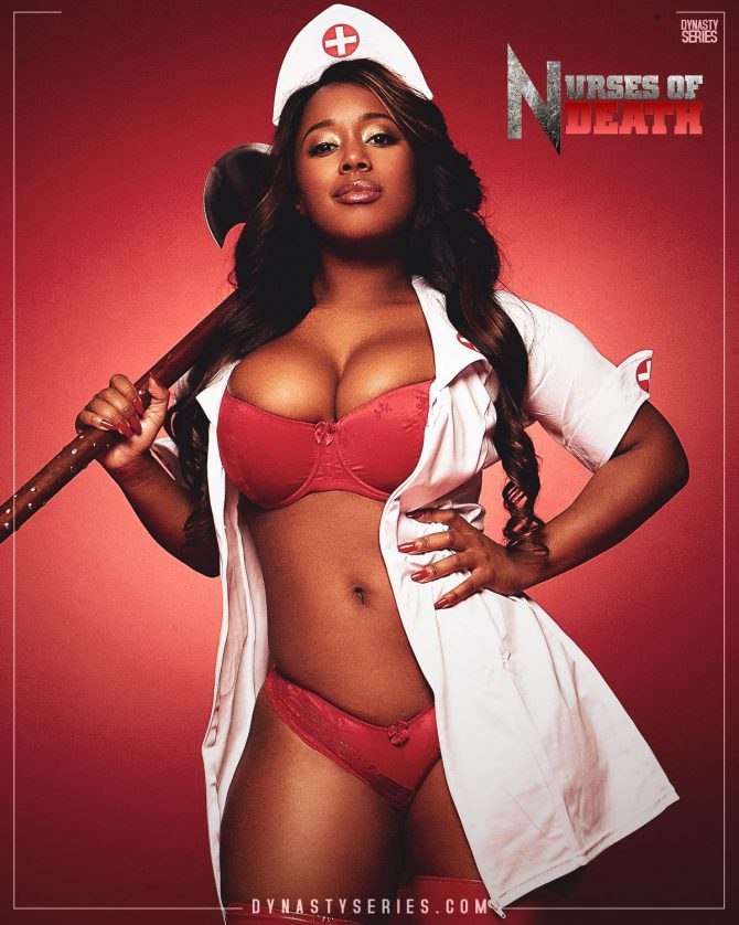 Cat Washington: DynastySeries Collectors Edition – Nurses of Death